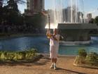 Tocha olímpica percorre 30 quilômetros em Belo Horizonte