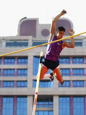 Thiago Braz, Baku 2015 recorde sul-americano, salto com vara