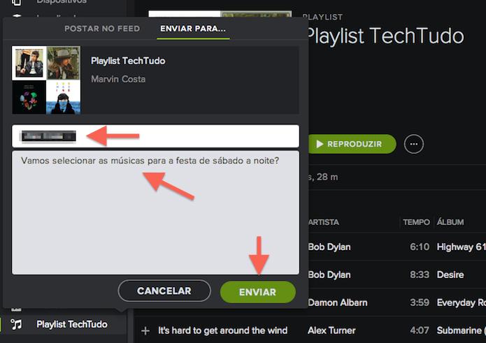 Como criar playlists colaborativas no Spotify e convidar