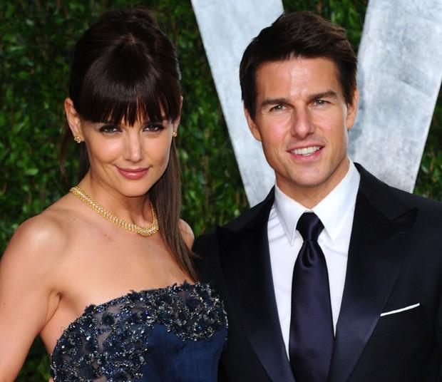 Katie Holmes e Tom Cruise (Foto: Alberto E. Rodriguez/Getty Images)