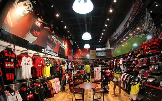 Loja oficial do Flamengo (Foto: Divulgação)