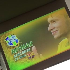 Neymar comemora (Foto: Instagram)