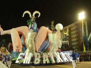 Escola vai levar cerca de 1,2 mil brincantes para a avenida (Foto: Arquivo/Cidade de Macapá)