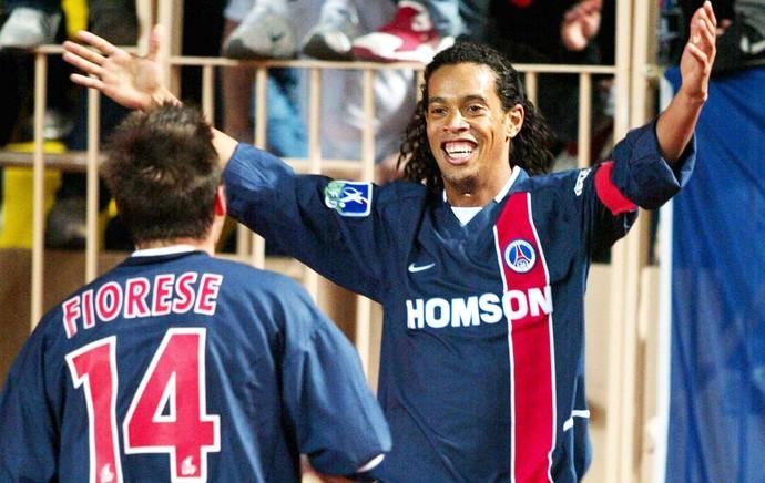 Ronaldinho Gaucho, PSG (Foto: Agência Reuters)