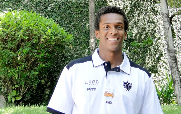 Jô atacante do Atlético-MG (Foto: Mauricio Paulucci)