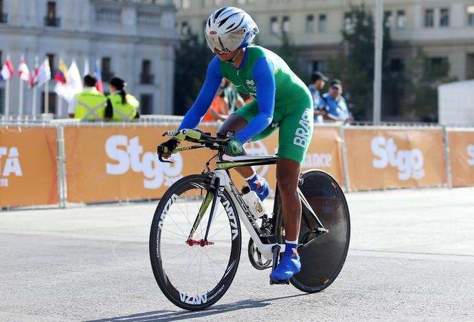 Fernanda Souza ciclismo (Foto: Foto de Gaspar Nóbrega/Inovafoto/COB)