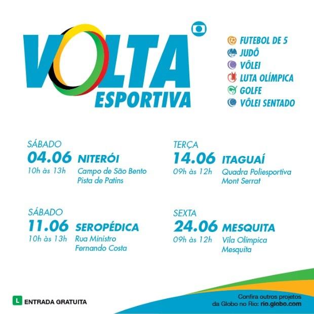 Volta Esportiva (Foto: Globo Rio)