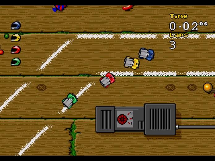 Micro Machines 96 (Foto: Reprodução/Games Fabrique)