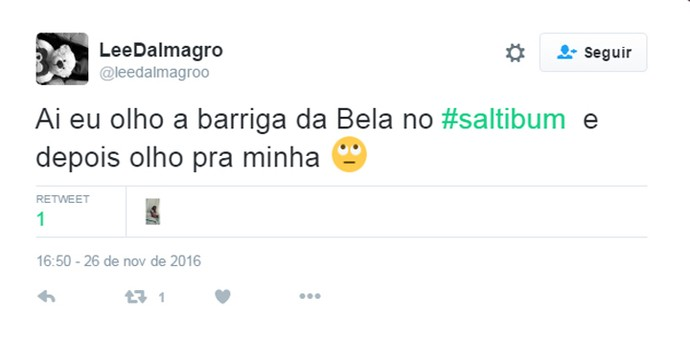 Tweet Bella  (Foto: Reprodução da Internet)