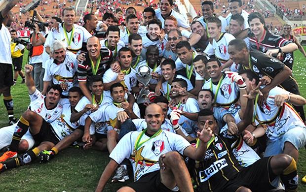 joinville campeão série C (Foto: Divulgação Site Oficial do Joinville)