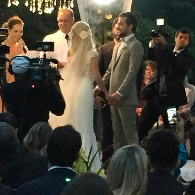 Casamento Eduardo Sterblitch e Louise D Tuani (Foto: Instagram / Reprodução)