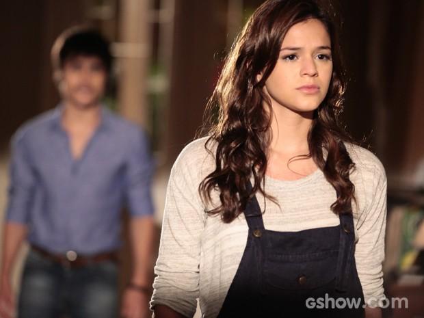 A atriz em cena como a personagem Helena, quando termina tudo de vez com Laerte (Foto: Pedro Curi/TV Globo)