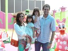Giovanna Antonelli comemora os dois anos das filhas gêmeas Sofia e Antônia