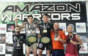 Fora do UFC, Ronys Torres e Dileno Lopes reinam no Amazon Warriors