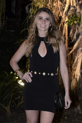 Giovanna Antonelli em festa na Zona Sul do Rio (Foto: Roberto Teixeira/ EGO)