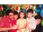 Em aniversário, trigêmeos de Fátima Bernardes e Bonner se homenageiam
