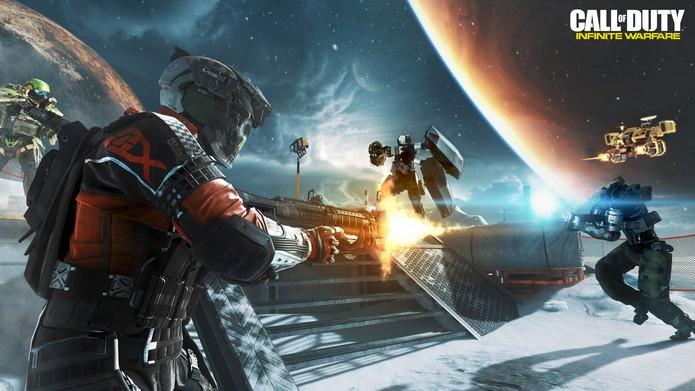 Infinite Warfare é o Call of Duty com história caprichada (Foto: Divulgação/Activision)
