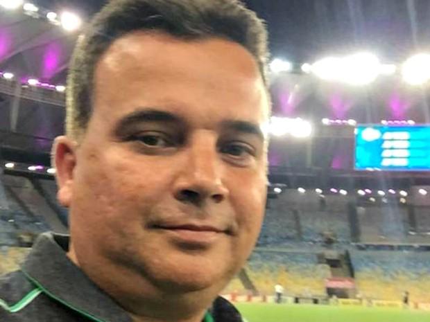 Marcio Koury era médico da Chapecoense e morreu no acidente de avião envolvendo a delegação  (Foto: Arquivo da família)