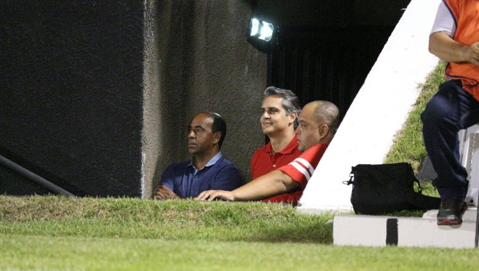 América-RN - Beto Santos, presidente (Foto: Augusto Gomes/GloboEsporte.com)