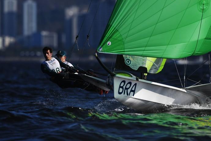 Marco Grael e Gabriel Borges (Foto: Getty Images)