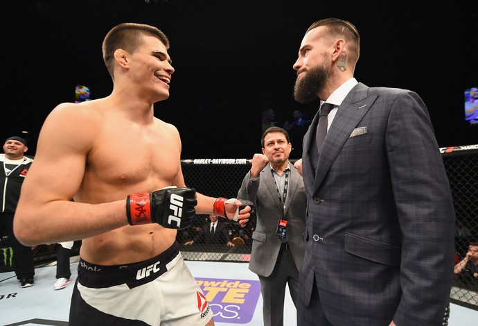 Mickey Gall CM Punk UFC MMA (Foto: Getty Images)