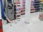 Quadrilha rende vigilantes e explode caixa em supermercado no RN