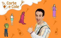 Corte e Cole: Figurino de Papel