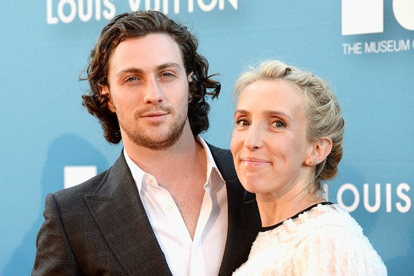 Aaron Johnson e Sam Taylor-Wood (Foto: Getty Images)