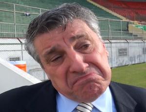 Manuel da Lupa, presidente da Portuguesa (Foto: reprodução / globoesporte.com)