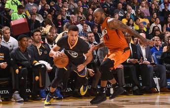 Curry brilha, Golden State se recupera e derrota o Phoenix Suns: 138 a 109