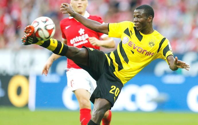 Adrian Ramos, Mainz X Borussia Dortmund (Foto: Agência AP)
