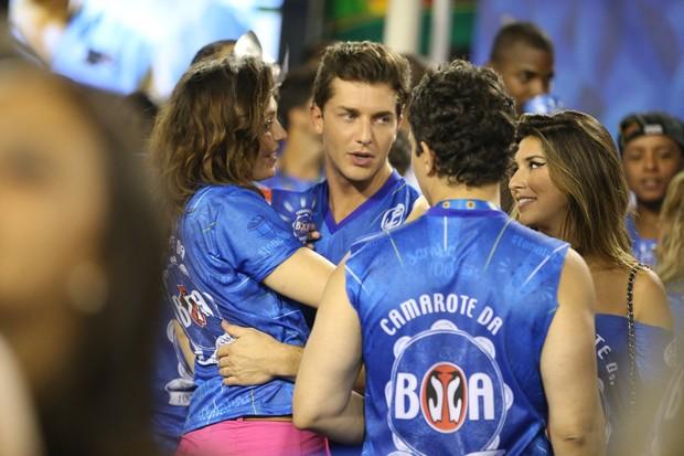 Monica Iozzi e Klebber Toledo (Foto: André Freitas / AgNews)