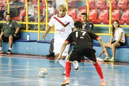 Lukaian Orlândia Jacareí Liga Paulista futsal (Foto: Márcio Damião/Divulgação)