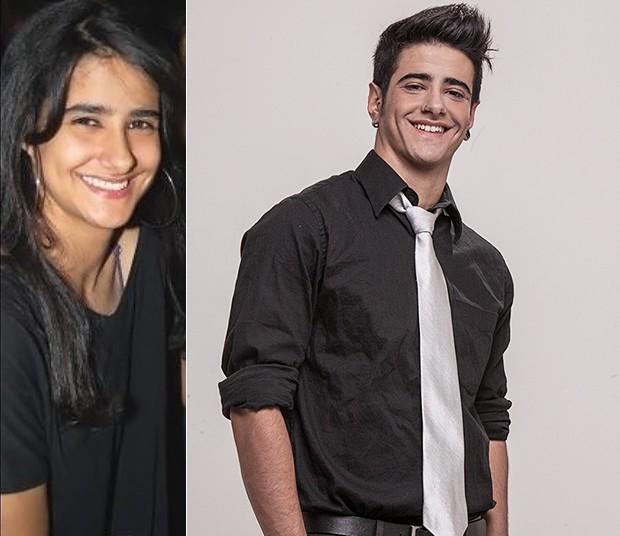 Tereza Brant - antes e depois (Foto: Amós Rodrigues/Divulgação)