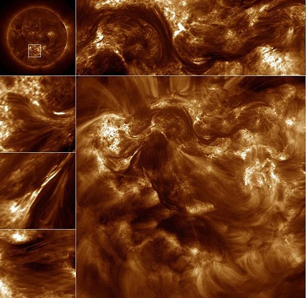 Telescópio da Nasa estuda como o Sol libera energia (Foto: Nasa)