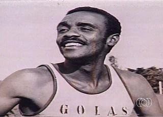 Macalé, ex-jogador do Goiás (Foto: Reprodução/TV Anhanguera)