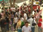 Professores e estudantes fazem protestos contra a PEC-241 na PB