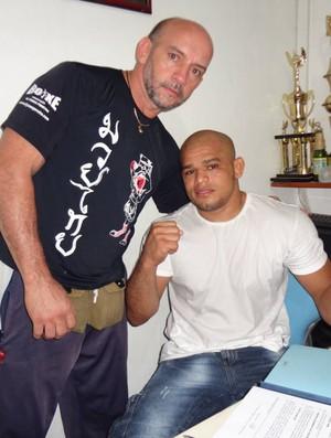 Ulysses Pereira é o treinador do paraense Iliarde Santos  (Foto: GLOBOESPORTE.COM)