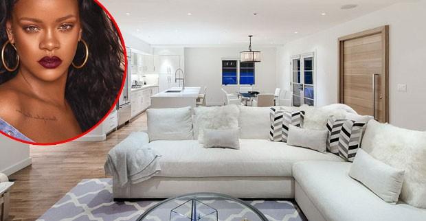 Rihanna cloca mansão à venda (Foto: Reprodução)