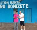 Reforço do Santos, Leandro Donizete vira nome de estádio no interior de SP