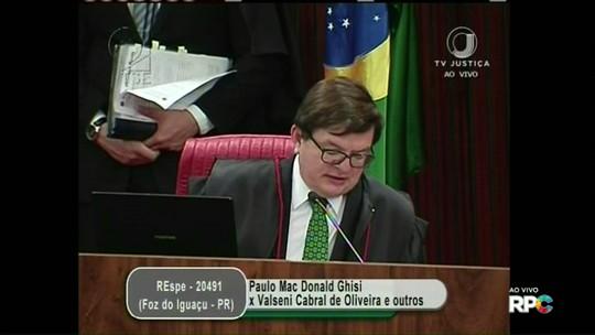 Relator mantém indeferimento da candidatura de Paulo Mac Donald