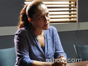 Vera dá lição em Caetano  (Foto: Malhação / TV Globo)
