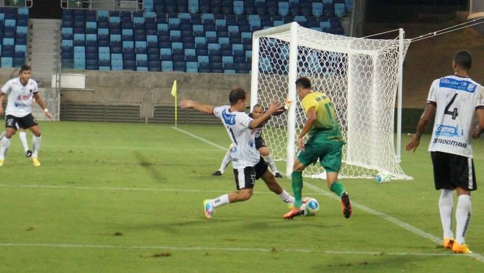 Cuiabá e Botafogo-PB na Arena Pantanal (Foto: Assessoria/Cuiabá Esporte Clube)