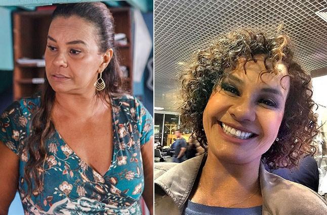 Antes e depois: Solange Couto (Foto: TV Globo e Reprodução/Instagram)