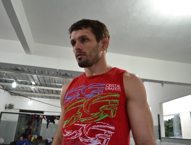 Rodrigo Damm, lutador do UFC (Foto: Richard Pinheiro/Globoesporte.com)