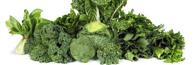 Verduras e legumes de folhas verdes são ricas em magnésio (Foto: Think Stock)