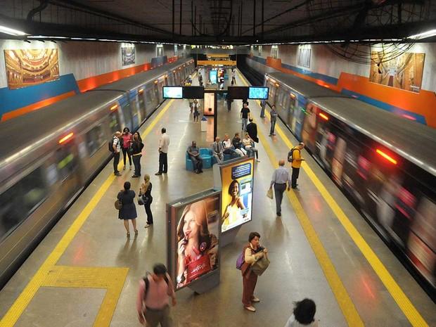 MetrôRio terá horário estendido para os Jogos no Rio (Foto: Divulgação MetrôRio/André Gomes de Melo)