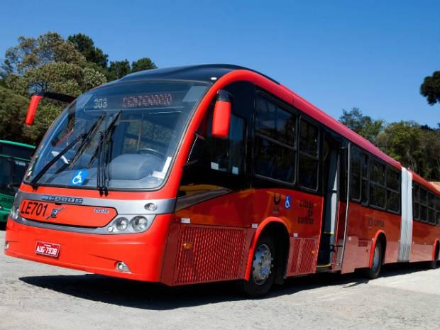 Ônibus Curitiba (Foto: Bruno Covello/SMCS/Divulgação)