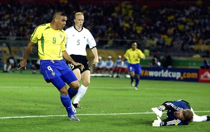 ronaldo brasil alemanha copa do mundo 2002 (Foto: Agência Getty Images)