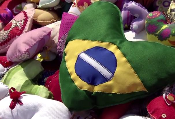 Ação do Coração 2016 - Lançamento da campanha (Foto: Reprodução/TV Tribuna)